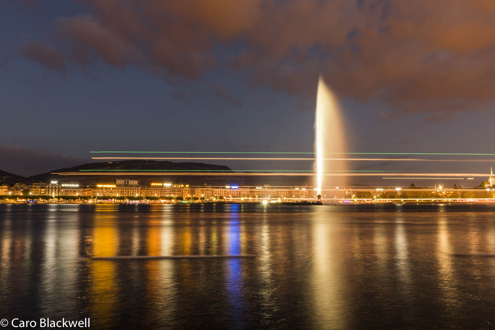 Summer night in Geneva - Caro Blackwell Photography